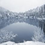 озеро Синевир зимой