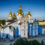 Михайлівський_Золотоверхий_монастир,_вид_зверху